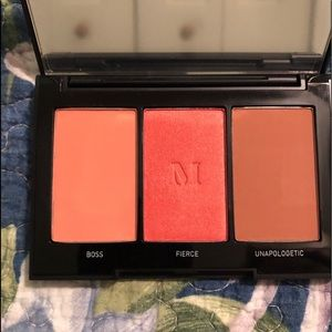New! Morphe Blushing Babes Blush Trio Pop of Color